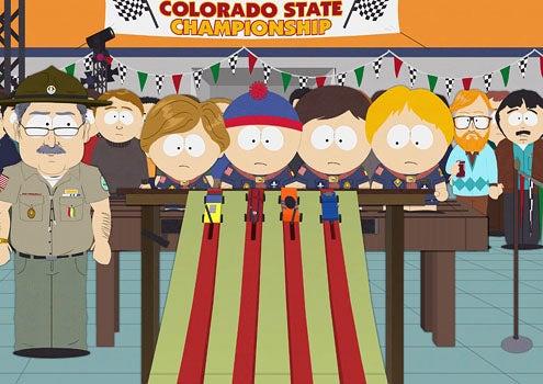 """South Park - Season 13 - """"Pinewood Derby"""" - Stan"""