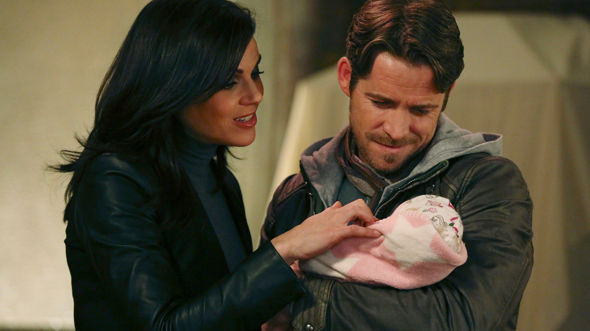 Lana Parrilla and Sean Maguire, Once Upon a Time