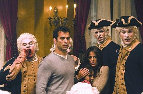 "Masters of Horror -"" The Washingtonians""- Johnathon Schaech, Venus Terzo, Julia Tortolano"