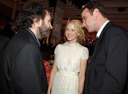 "Peter Jackson, Naomi Watts and Liev Schreiber - ""King Kong"" premiere, Dec. 2005"