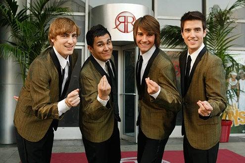 Big Time Rush - Kendall Schmidt, Carlos Pena, James Maslow, and Logan Henderson