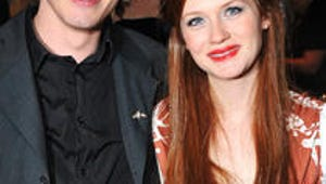 Harry Potter's Jamie Campbell Bower and Bonnie Wright Are Engaged