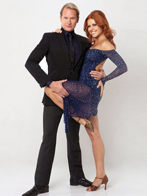 Dancing With The Stars - Season 13 - Carson Kressley and Anna Trebunskaya
