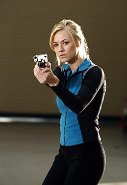 "Chuck - Season 2, ""Chuck vs. the Best Friend"" - Yvonne Strahovski as Sarah Walker"
