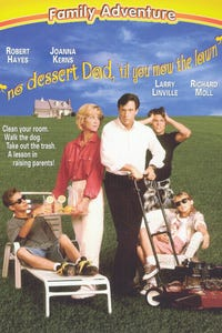No Dessert Dad 'til You Mow the Lawn as Evil Hypnotist