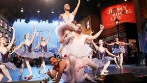 Watch Jimmy Kimmel in a Tutu Dance Ballet with Misty Copeland