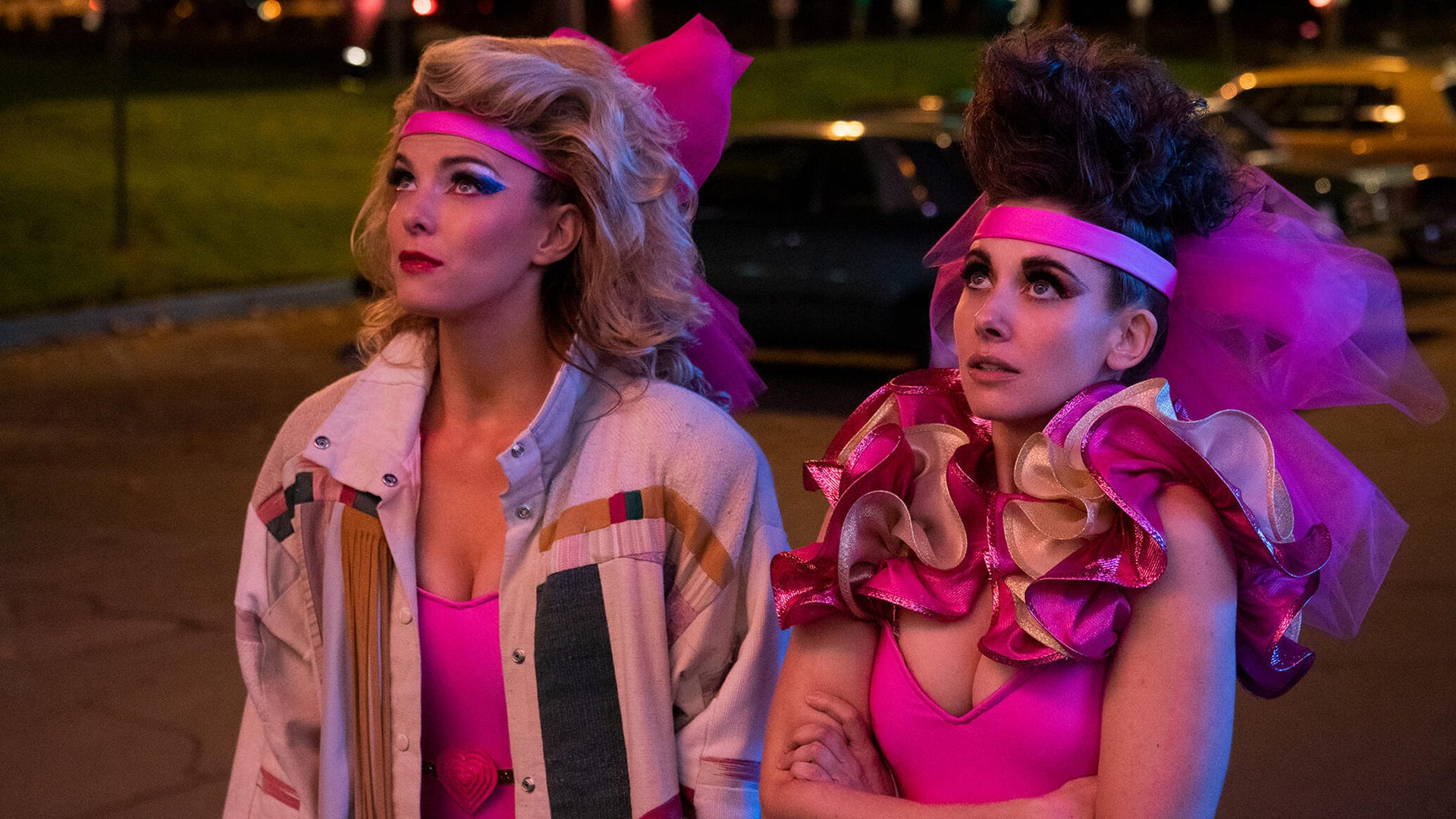 Betty Gilpin and Alison Brie, GLOW