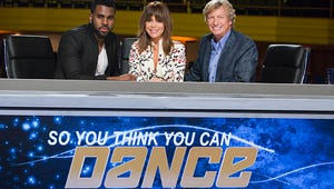 A Girl Barfed On Paula Abdul During So You Think You Can Dance: The Next Generation