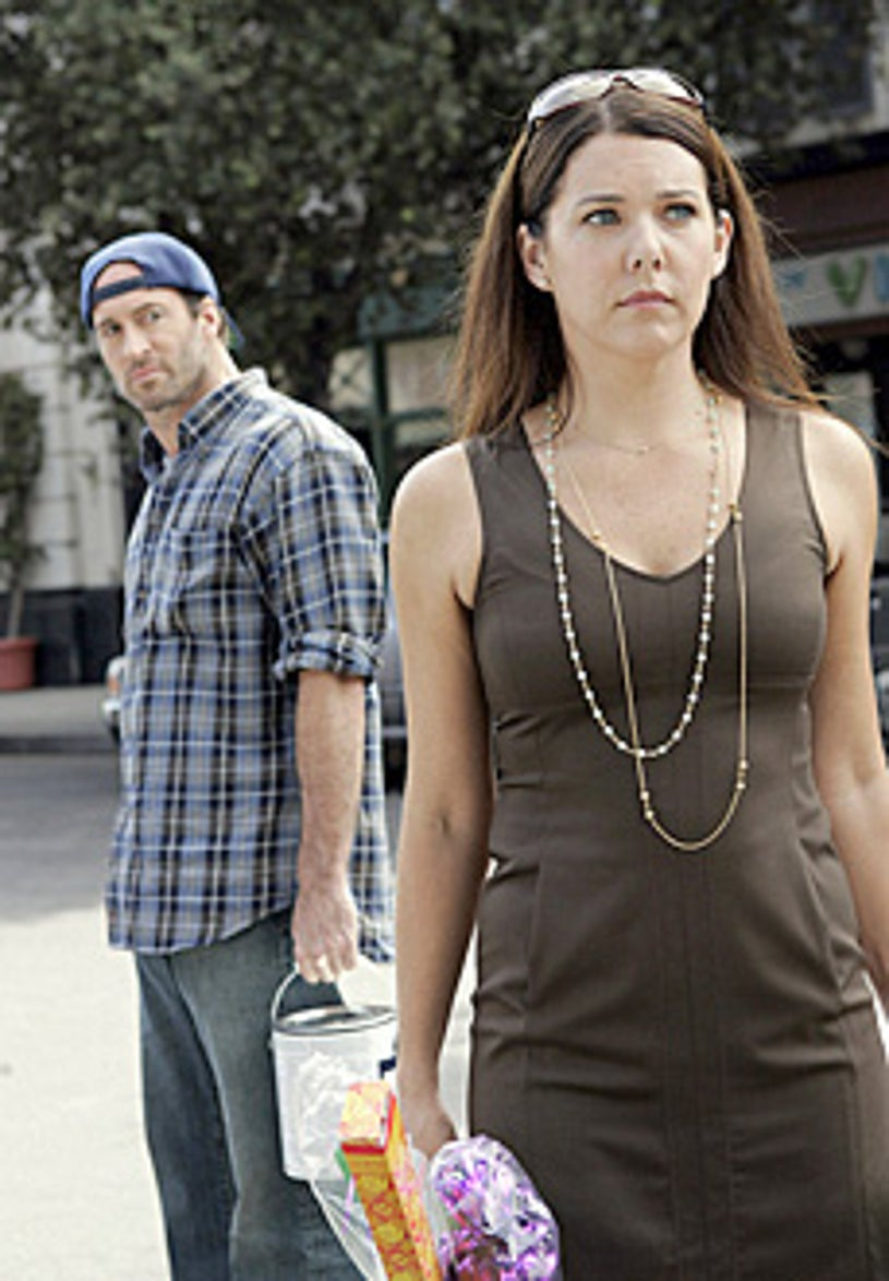 """Gilmore Girls - """"That's What You Get Folks, For Makin' Whoopee"""" - Scott Patterson, Lauren Graham"""