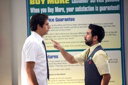 """Chuck - Season 3 - """"Chuck vs. the Beard"""" - Zachary Levi and Joshua Gomez"""