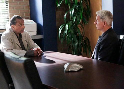 "NCIS - Season 10 - ""Namesake"" - Billy Dee Williams, Mark Harmon"