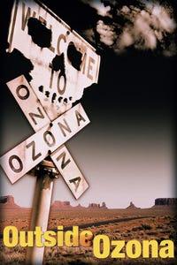 Outside Ozona as Earlene Demers