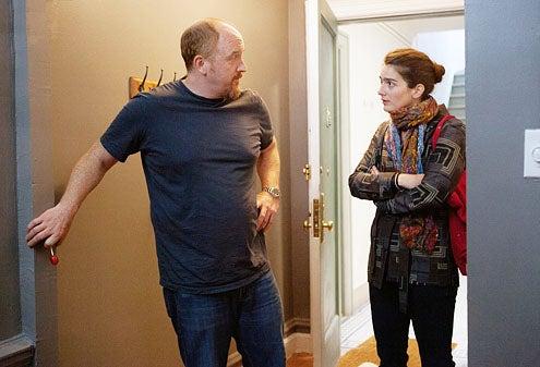 """Louie - Season 3 - """"Something is Wrong"""" - Louie C.K. and Gaby Hoffman"""