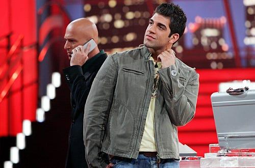 Deal or No Deal - Season 3 -  Host Howie Mandel, Contestant Danny Pecoraro