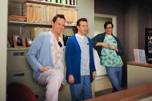 """30 Rock - Season 4 - """"Anna Howard Shaw Day"""" - Dean Winters, Jason Sudeikis and Jon Hamm"""