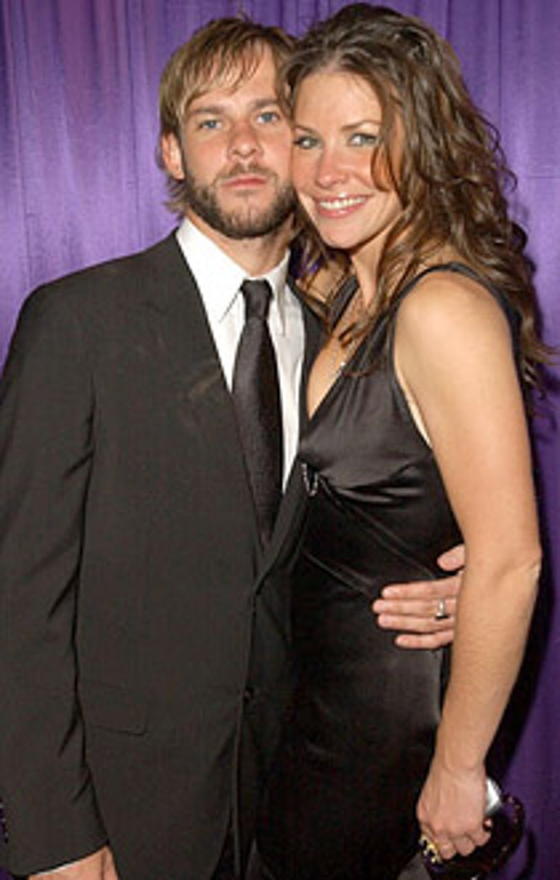 Dominic Monaghan and Evangeline Lilly - 2005