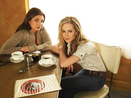 Saving Grace - Season 1 - Laura San Giacomo and Holly Hunter