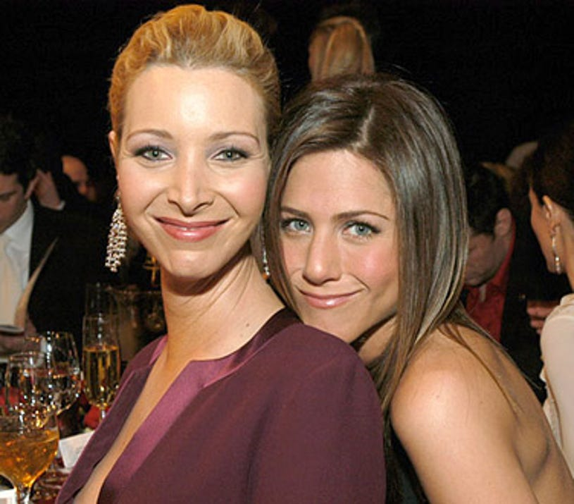Lisa Kudrow and Jennifer Aniston - Ninth Annual Screen Actors Guild Awards, March 9, 2003