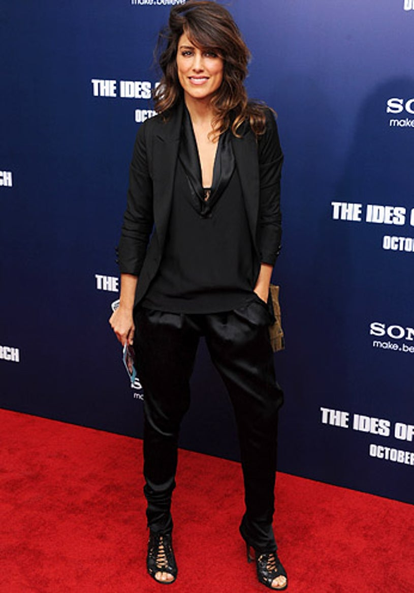 """Jennifer Esposito - The Ides of March"""" in New York City, October 5, 2011"""