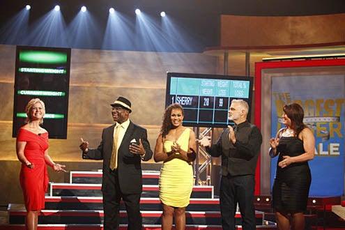 The Biggest Loser - Season 9 - Alison Sweeney, O'Neal Hampton, Jr., Sunshine Hampton, Darrell Hough, Andrea Hough