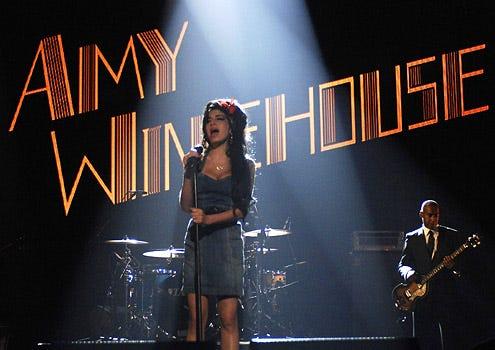 Amy Winehouse - The 2007 MTV Europe Awards in Germany, November 1, 2007