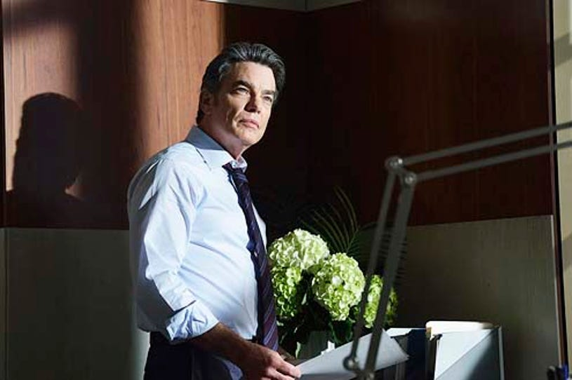 """Covert Affairs - Season 5 - """"Grounded"""" - Peter Gallagher"""