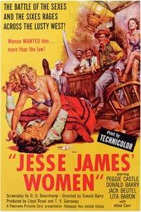 Jesse James' Women as le tireur