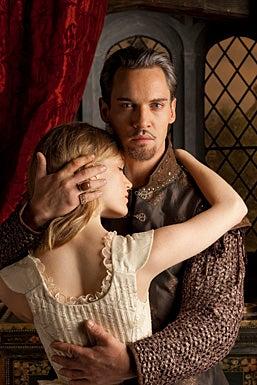 The Tudors - Season 4 - Tamzin Merchant as Katherine Howard and Jonathan Rhys Meyers as Henry VIII