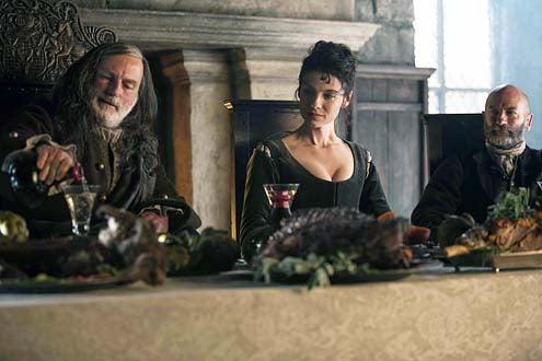 Outlander - Season 1 - Gary Lewis, Caitriona Balfe and Graham McTavish