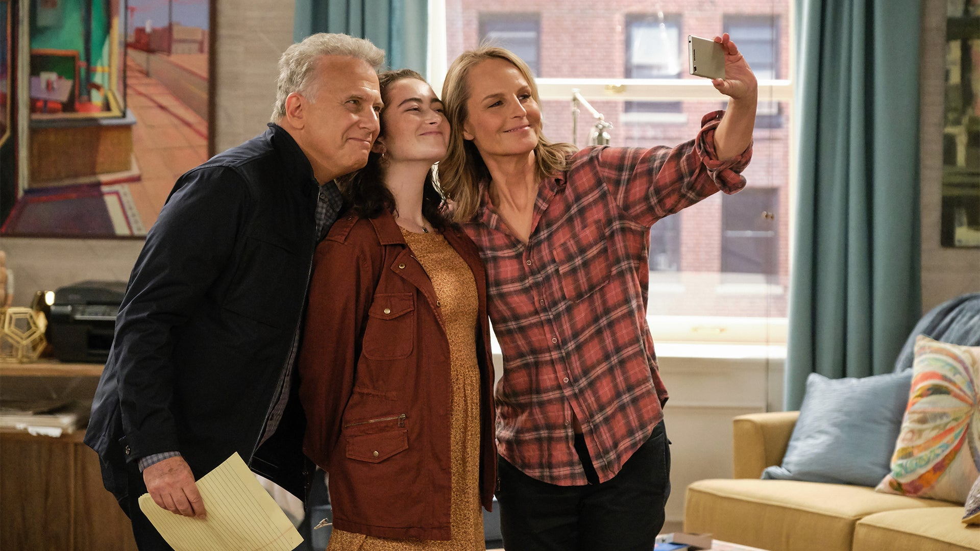 Paul Reiser, Abby Quinn, and Helen Hunt, Mad About You
