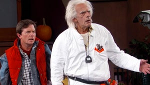 Watch Doc Brown and Marty McFly Learn What a Selfie Is on Jimmy Kimmel Live