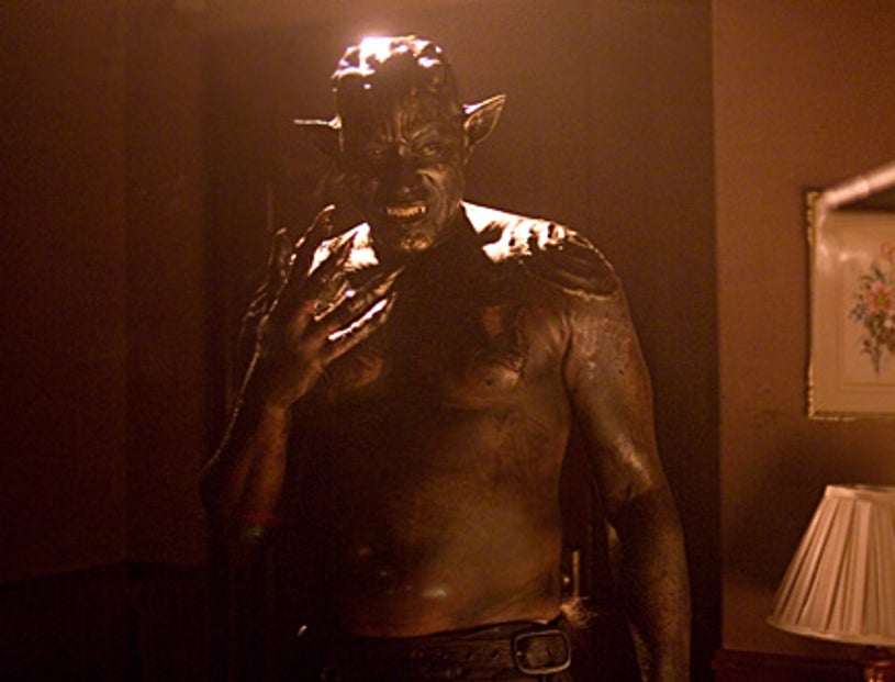 """Masters of Horror - Season 2, """"Valerie on the Stairs"""" - Tony Todd as The Beast"""