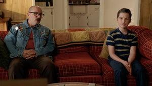Blue's Clues Star Steve Burns Is Young Sheldon's Weird New 'Friend' in This Sneak Peek