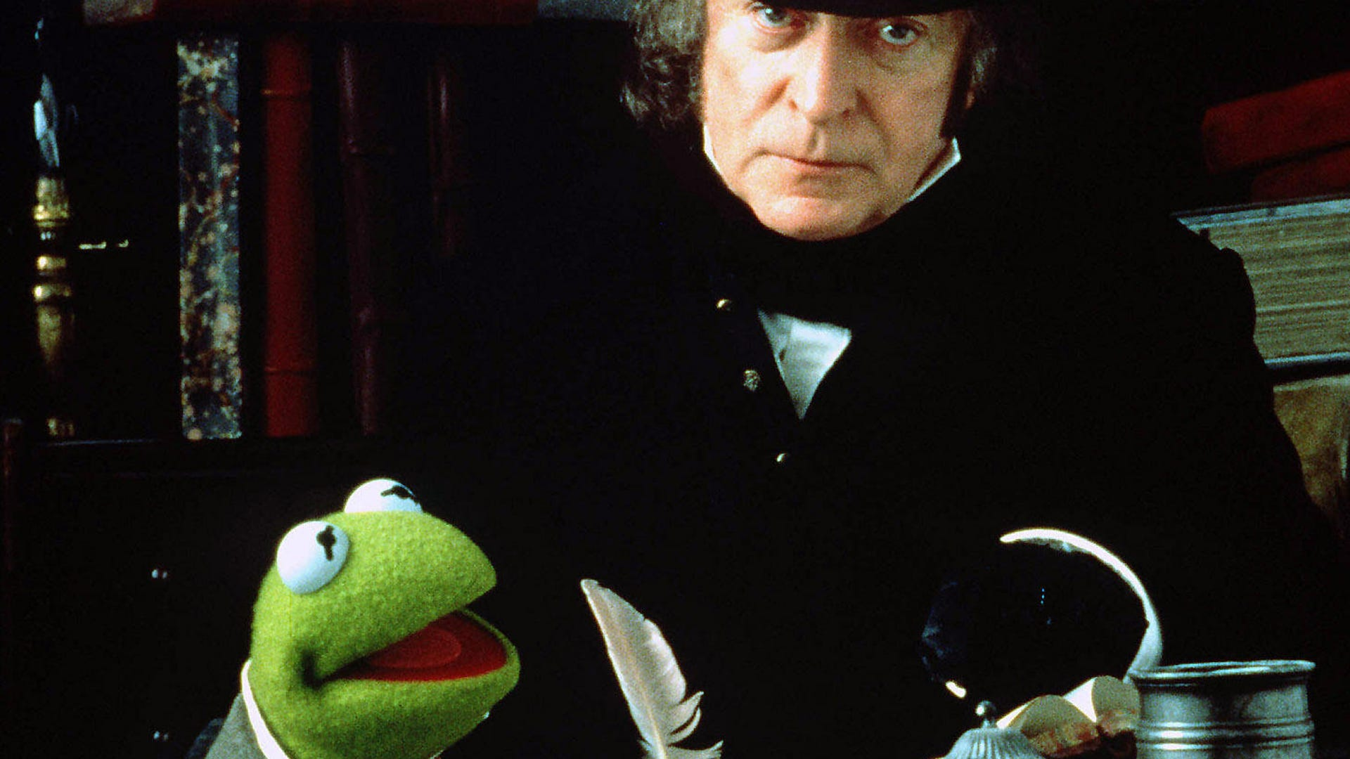 Kermit the Frog and Michael Caine, Muppet Christmas Carol