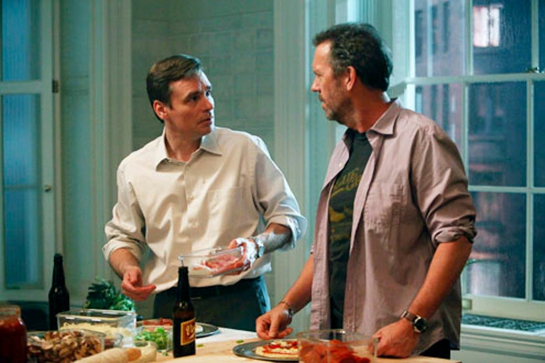 "House - Season 8 - ""Gut Check"" - Robert Sean Leonard and Hugh Laurie"