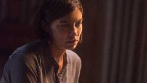 """The Walking Dead's Lauren Cohan Says Maggie's Story Is """"Not Finished"""""""