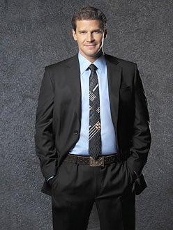 "Bones - David Boreanaz as ""Special Agent Seeley Booth"""