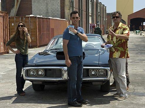 "Burn Notice - Season 3 - ""Friends and Family"" - Gabrielle Anwar, Jeffrey Donovan, Bruce Campbell"