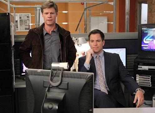 "NCIS - Season 10 - ""Squall"" - Joel Gretsch and Michael Weatherly"