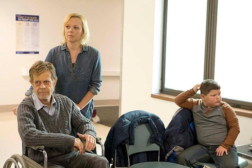 "Shameless - Season 4 - ""Iron City"" - William H. Macy and Emily Bergl"