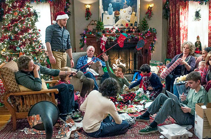 "Parenthood - Season 4 - ""What To My Wondering Eyes"" - Dax Shepard, Sam Jaeger, Craig T. Nelson, Tyree Brown, Mae Whitman and Miler Heizer"