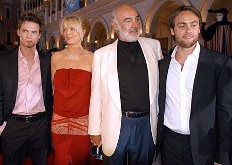 "Shane West,  Peta Wilson, Sean Connery, Stuart Townsend - ""The League Of Extraordinary Gentlemen"" Las Vegas Premiere"