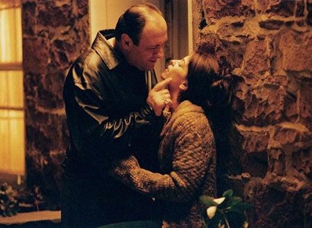 The Sopranos - Season 3 - James Gandolfini as Tony, Annabella Sciorra as Gloria Trillo