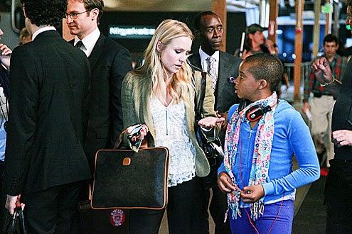 "House of Lies - Season 1 - ""Mini-Mogul"" - Josh Lawson, Kristen Bell, Don Cheadle and Donis Leonard Jr."