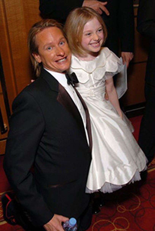 Carson Kressley and Dakota Fanning - Colon Cancer Benefit, April  2004