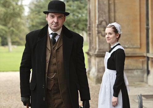 Downton Abbey - Season 2 - Brendan Coyle as John Bates and Joanne Froggatt as Anna Smith