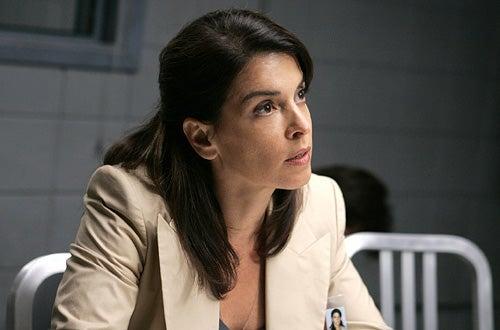 "Law & Order: Criminal Intent - Annabella Sciorra as ""Det. Carolyn Barek"""