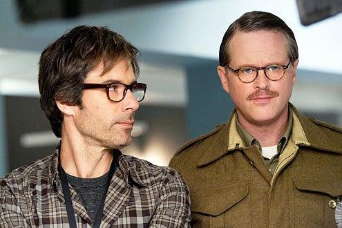 "Perception - Season 1 - ""Cipher"" - Eric McCormack and Cary Elwes"