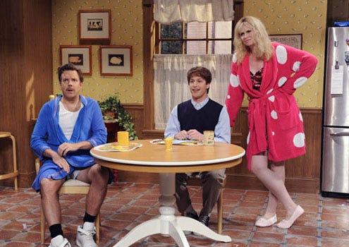 """Saturday Night Live - Season 36 - """"Jane Lynch"""" - Jason Sudeikis, Andy Samberg and Jane Lynch"""