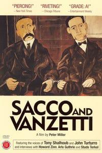 Sacco and Vanzetti as Nicola Sacco